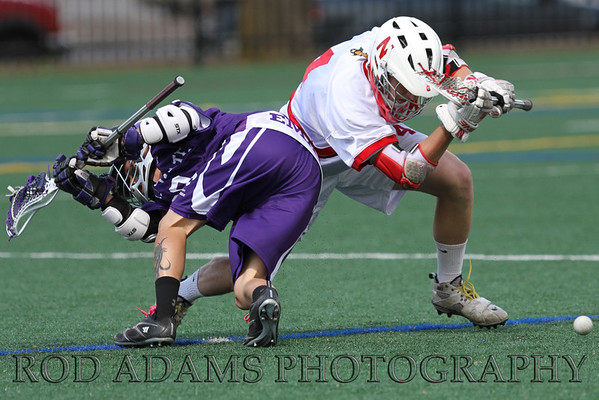 My son Mason Adams winning a faceoff vs Kansas State in 2012.